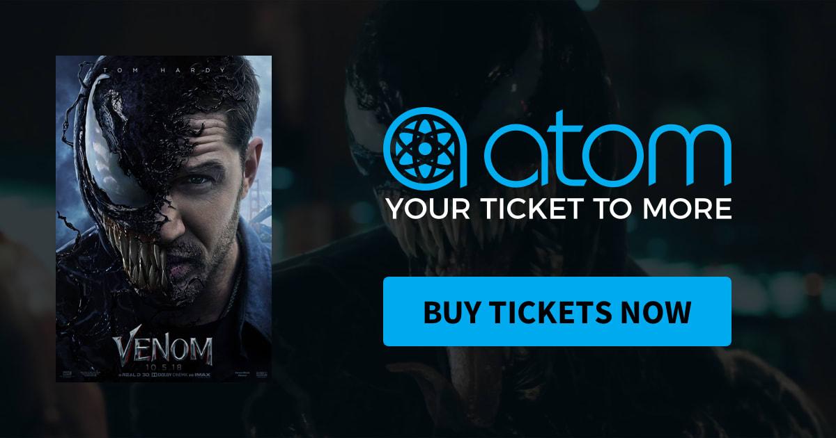 Venom | Showtimes, Tickets & Reviews - Atom Tickets