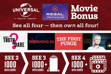 Movie Promotions, Discounts & Specials | Regal Cinemas