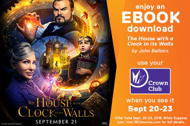Movie promotions discounts specials regal cinemas the house with a clock in its walls ebook new fandeluxe Image collections