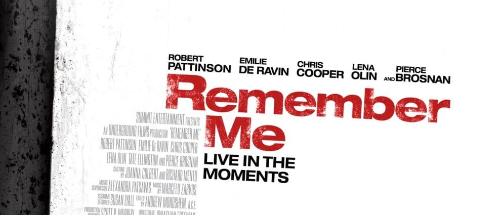 Remember Me 2010 Trailer