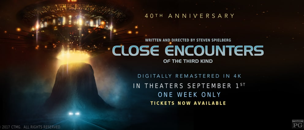 a film review of close encounters of the third kind Hosts marisa serafini (@serafinitv), and demetri panos (@dmovies1701) discuss the 1977 film, close encounters of the third kind close encounters of the thir.