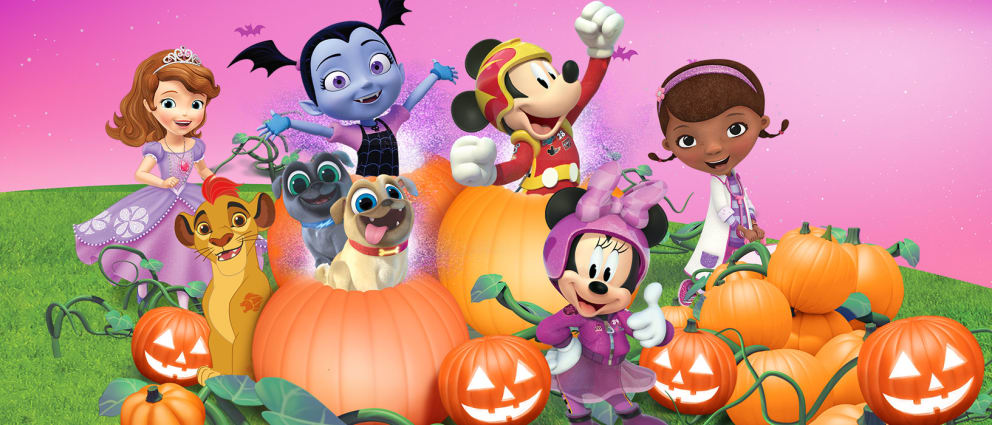 disney junior at the movies halloveen party movie trailer more
