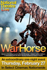 National Theatre Live: National Theatre's War Horse - Find showtimes & theaters
