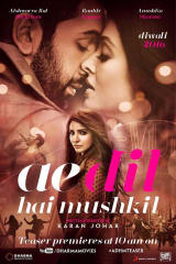 Ae Dil Hai Mushkil - Find showtimes & theaters