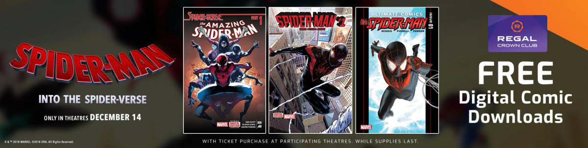 Bekannt Spider-Man: Into the Spider-Verse ~ Receive code for digital comic OP63
