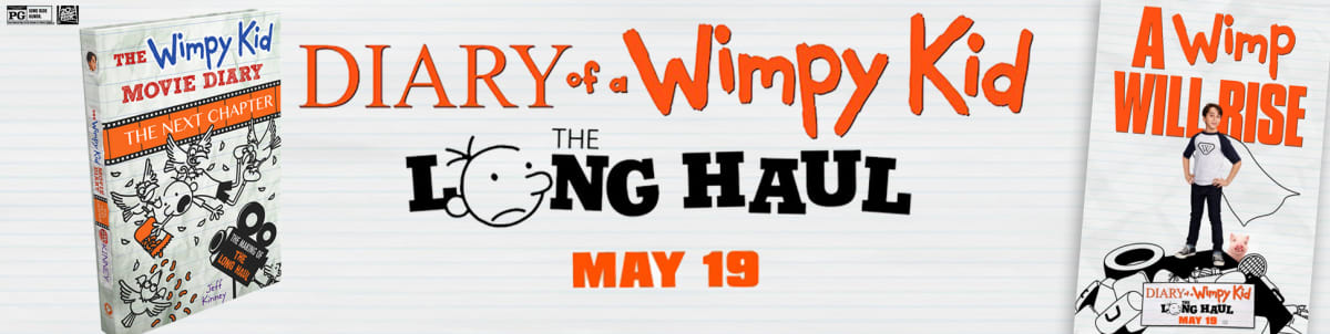 diary of a wimpy kid the long haul movie trailer more