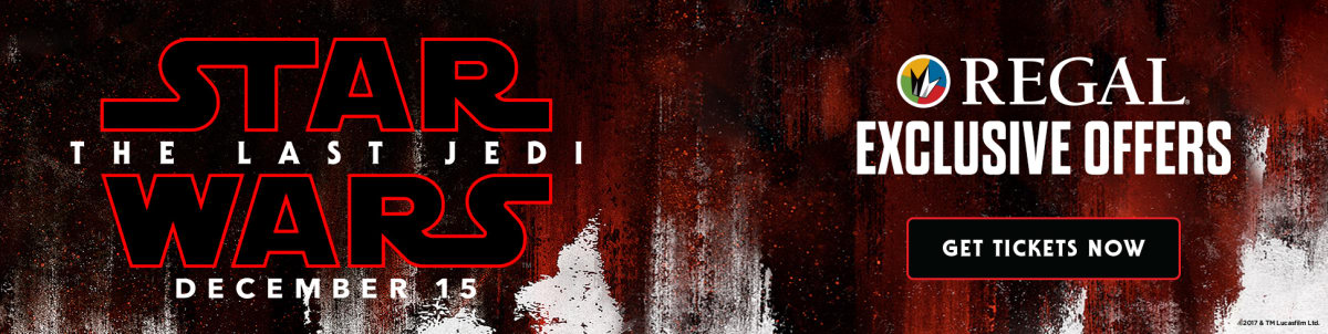 Star Wars: The Last Jedi   Special Events, Movie Tickets U0026 Showtimes    Opens. Join Regalu0027s Cast