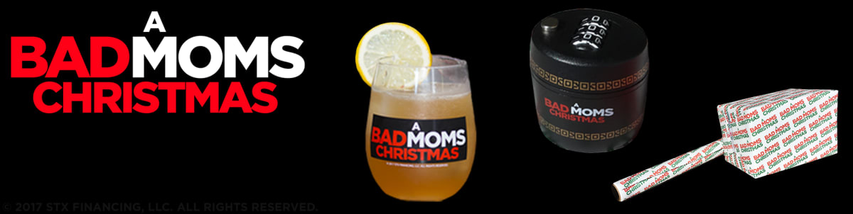now available in the regal crown club rewards center exclusive a bad moms christmas merchandise