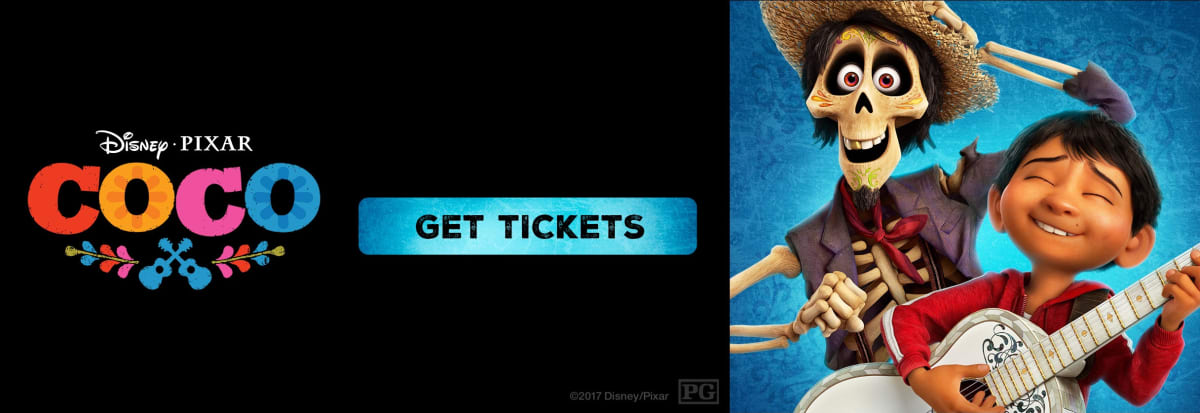Regal cinemas ua edwards theatres movie tickets showtimes coco advance movie tickets and showtimes active ccuart Images