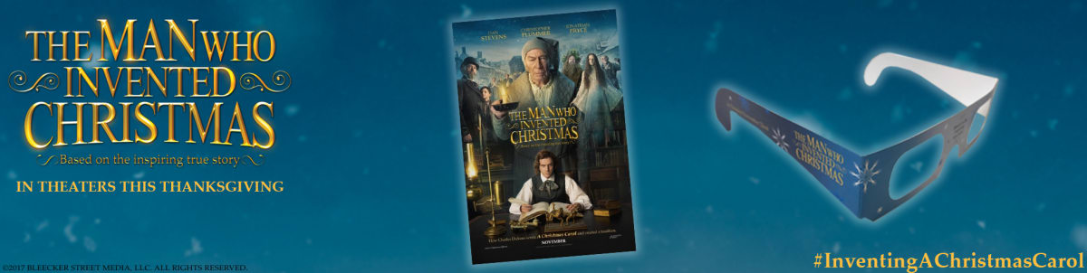 now available in the regal crown club rewards center exclusive the man who invented christmas