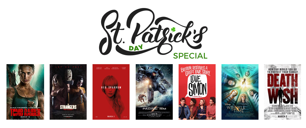 $7 Off of 7 Movies for a Select Time, While Supplies Last