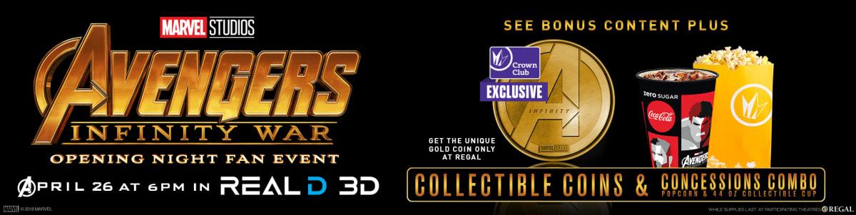 avengers infinity war opening night fan event - Regal Garden Grove Stadium 16