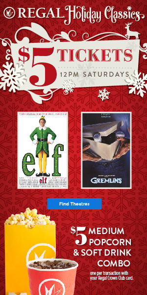 Regal cinemas ua edwards theatres movie tickets showtimes regal holiday classic film series movie tickets and showtimes tickets on sale now negle Images