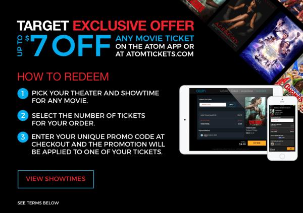 Promo code movie tickets com
