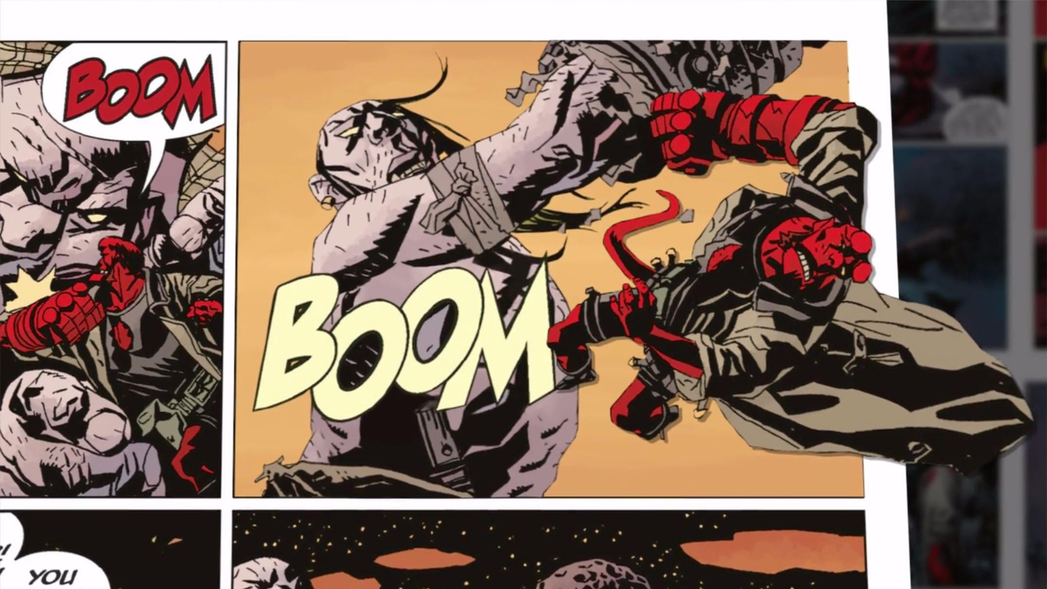 Bringing Hellboy to Life Featurette
