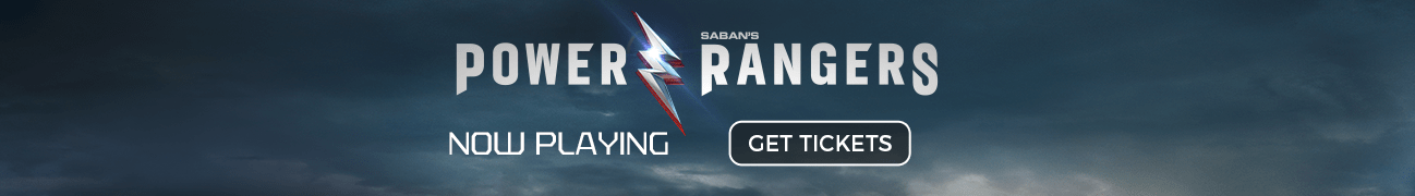Buy tickets for Power Rangers now