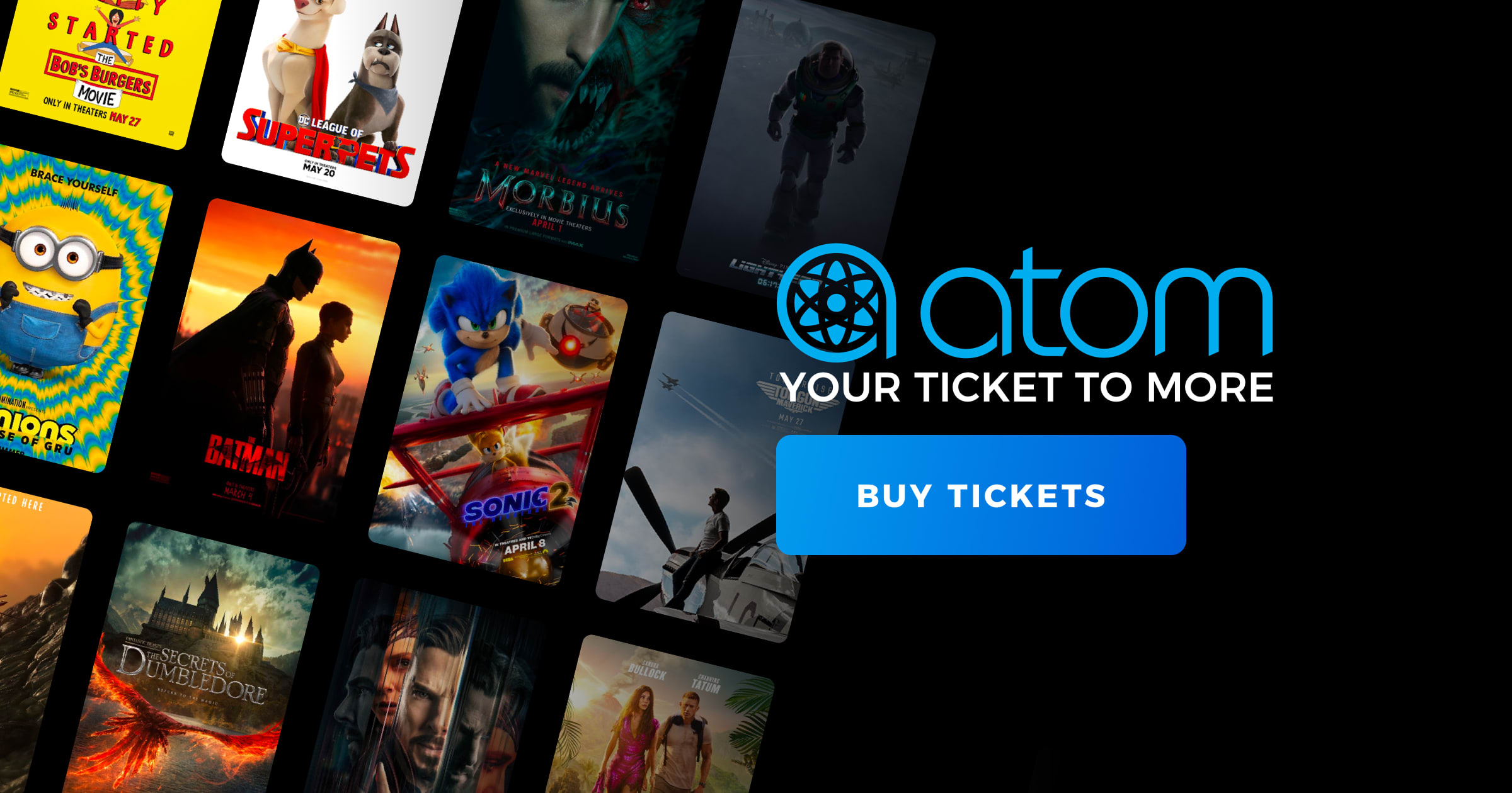 Lucky Atom Users Can Get $7 Off a Ticket to Seven Select Movies (For a Limited Time, While Supplies Last)! | Atom, the Future of Movies